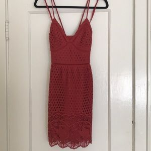 Red Abercrombie & Fitch Sundress